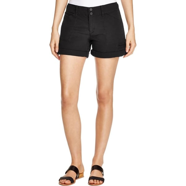 Sanctuary Womens Habitat Shorts Cuffed Casual