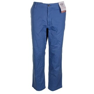 Dockers Mens Federal Blue Classic-Fit Four Pocket Performance Stretch Pants - 34