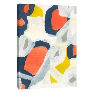 """PTM Images 9-108656  PTM Canvas Collection 10"""" x 8"""" - """"Candy-Scape 2"""" Giclee Abstract Art Print on Canvas"""