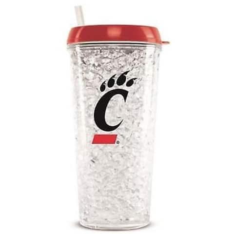 Duckhouse CMCCINT NCAA Cincinnati Bearcats Tumbler with Straw