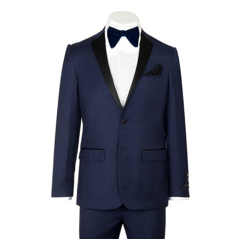 Tufo, Modern Fit, French Blue, Pure Wool Tuxedo by Tiglio Luxe TIG5966