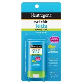 Neutrogena Wet Skin Kids Sunscreen Stick, SPF 70, 0.47 oz