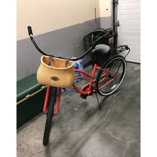 Lightship Collection Bicycle Basket Nantucket Bicycle Basket Co Natural