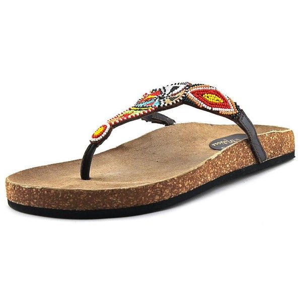 Matisse Hippie Open Toe Leather Thong Sandal