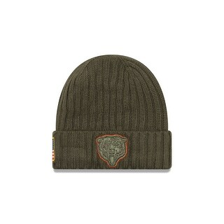 Chicago Bears 2017 Salute to Service Knit Hat