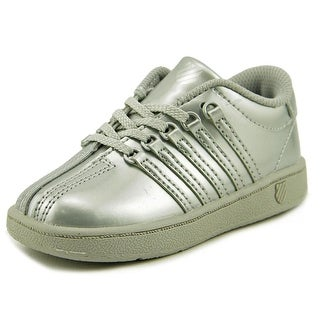 K-Swiss Classic VN Round Toe Patent Leather Sneakers