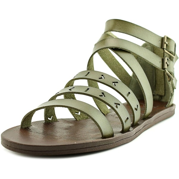 03470beaaeeb Shop Blowfish Doda Women Open Toe Leather Tan Gladiator Sandal ...