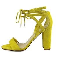 Marc Fisher Womens fatima Fabric Open Toe Special Occasion Strappy Sandals