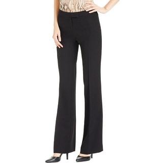 Anne Klein Womens Dress Pants Flat Front Faux Pockets