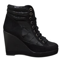 16913195c70 Shop Guess Dustyn Hidden-Wedge Fashion Sneakers