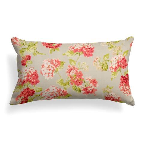 Summer Garden Lumbar Pillow