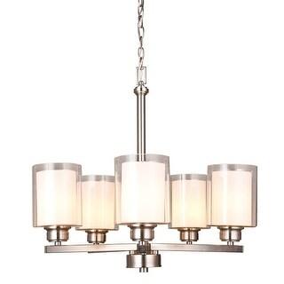 Design House 567198 Oslo 5 Light Single Tier Chandelier