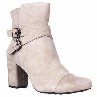 Easy Spirit Patar Comfort Dress Booties - Taupe