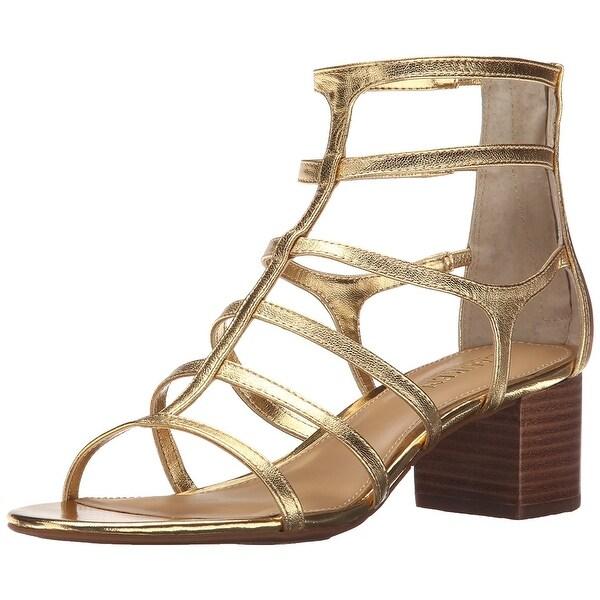 LAUREN by Ralph Lauren Womens Madge Open Toe Casual T-Strap Sandals