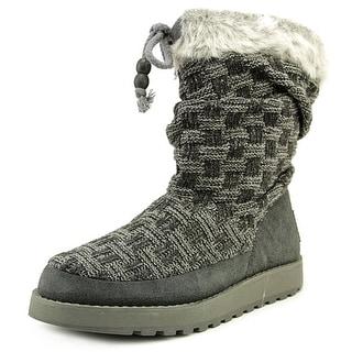 Skechers Keepsake Meadow Round Toe Canvas Snow Boot