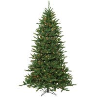 14' Pre-Lit Frasier Fir Artificial Christmas Tree & Stand - Multi Dura Lights