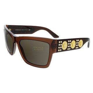 Versace VE4289 513073 Transparent Butterfly Sunglasses