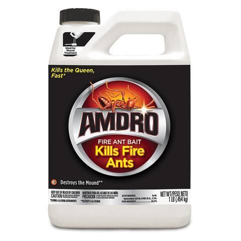 Amdro 100099070 Fire Ant Killer Bait, 1 lb