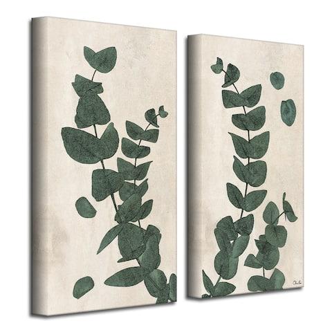 Olivia Rose 'Poetic Flora Set III' Canvas Wall Art Set
