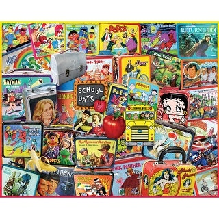 """Jigsaw Puzzle 1000 Pieces 24""""X30""""-Lunch Boxes"""