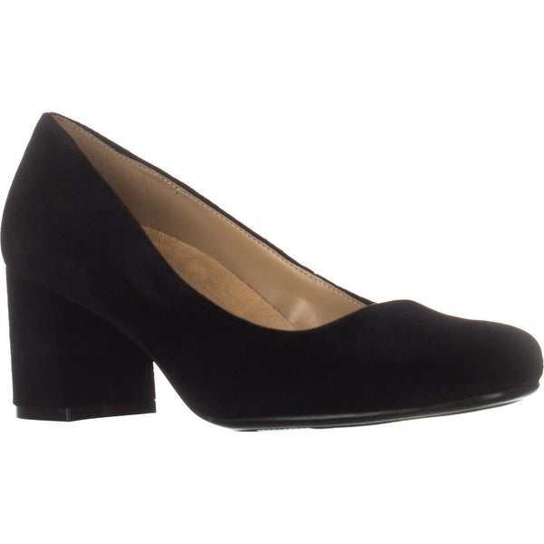 naturalizer Whitney Dress Pumps, Black Velvet