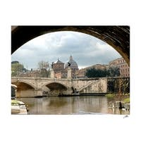 ''Tibor River at the Vatican'' by Igor Maloratsky Photography Art Print (13 x 19 in.)