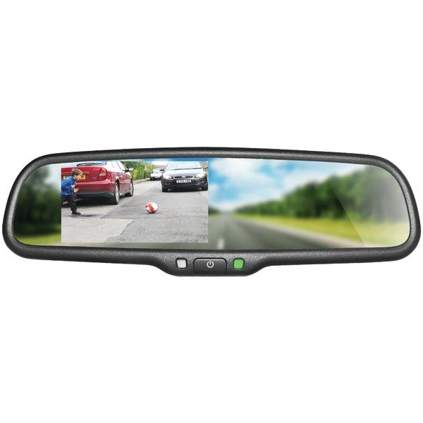 "Boyo Vtm43M 4.3"" Oe-Style Replacement Rearview Mirror Monitor"