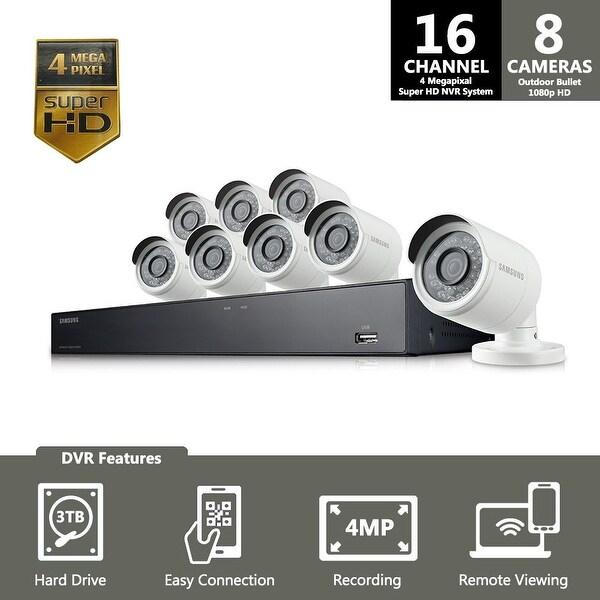 SNK-D5081 - Samsung 16 Channel 4 Megapixel Super HD NVR Security System