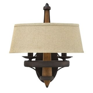 Fredrick Ramond FR41242 2 Light Wall Sconce from the Bastille collection