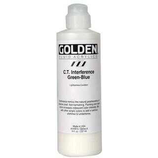 Golden - Fluid Acrylic - 8 oz. Bottle - Primary Magenta