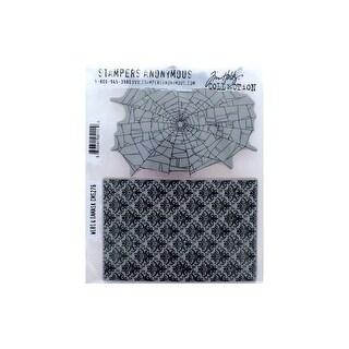 StampersA Cling Stamp THoltz Webs & Damask