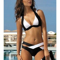 Tan Two-piece Swimwear