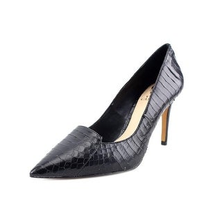 Vince Camuto Panan Pointed Toe Leather Heels