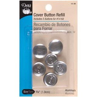 "Size 30 3/4"" 5/Pkg - Cover Button Refills"