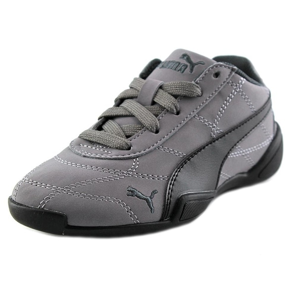 Puma Tune Cat 3 Nbk Ps Youth  Round Toe Leather Gray Sneakers