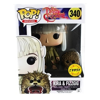 The Dark Crystal POP Vinyl Figure: Kira & Fizzgig (Chase Variant) - multi