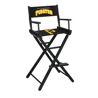 Tremendous Directors Chair Bar Height Mlb Pittsburgh Pirates Overstock Com Shopping The Best Deals On Bar Tables Squirreltailoven Fun Painted Chair Ideas Images Squirreltailovenorg