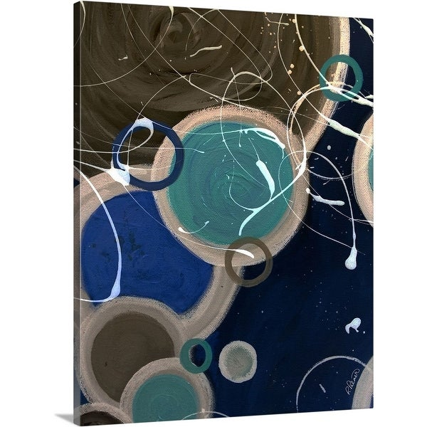 """Energy Flow"" Canvas Wall Art"
