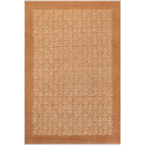 """Boho Chic Ziegler Yukiko Hand Knotted Area Rug -9'1"""" x 12'4"""" - 9 ft. 1 in. X 12 ft. 4 in."""