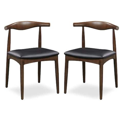 Poly and Bark Keren Solid Wood Dining Chair (Set of 2)
