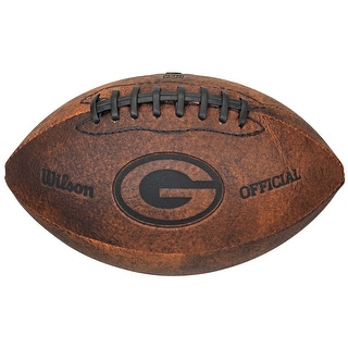 Green Bay Packers Football Vintage Throwback 9 Inches