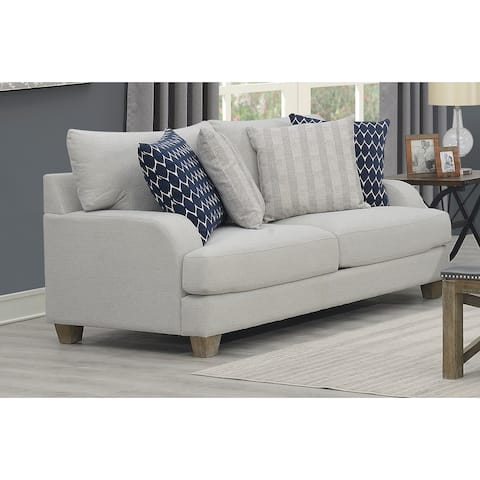 The Gray Barn Stow Wold Grey Farmhouse Style Loveseat