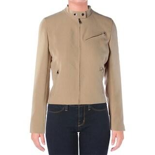 Ralph Lauren Womens Jacket Solid Long Sleeves