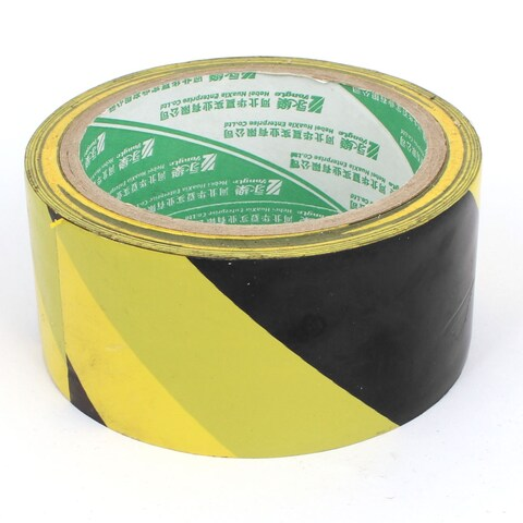 Unique Bargains Self Adhesive Reflective Hi Vis Safety Marking Warning Tape 48mm Wide 25M Long