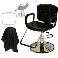 LCL Beauty Reclining Hydraulic Cutting and Shampoo Salon Chair