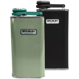 Stanley Classic 8 oz. Wide Mouth Single Wall Insulated Stainless Steel Flask|https://ak1.ostkcdn.com/images/products/is/images/direct/64c351c07dfc2a5087bdc1ce17744b838f22ac5d/Stanley-Classic-8-oz.-Wide-Mouth-Single-Wall-Insulated-Stainless-Steel-Flask.jpg?impolicy=medium