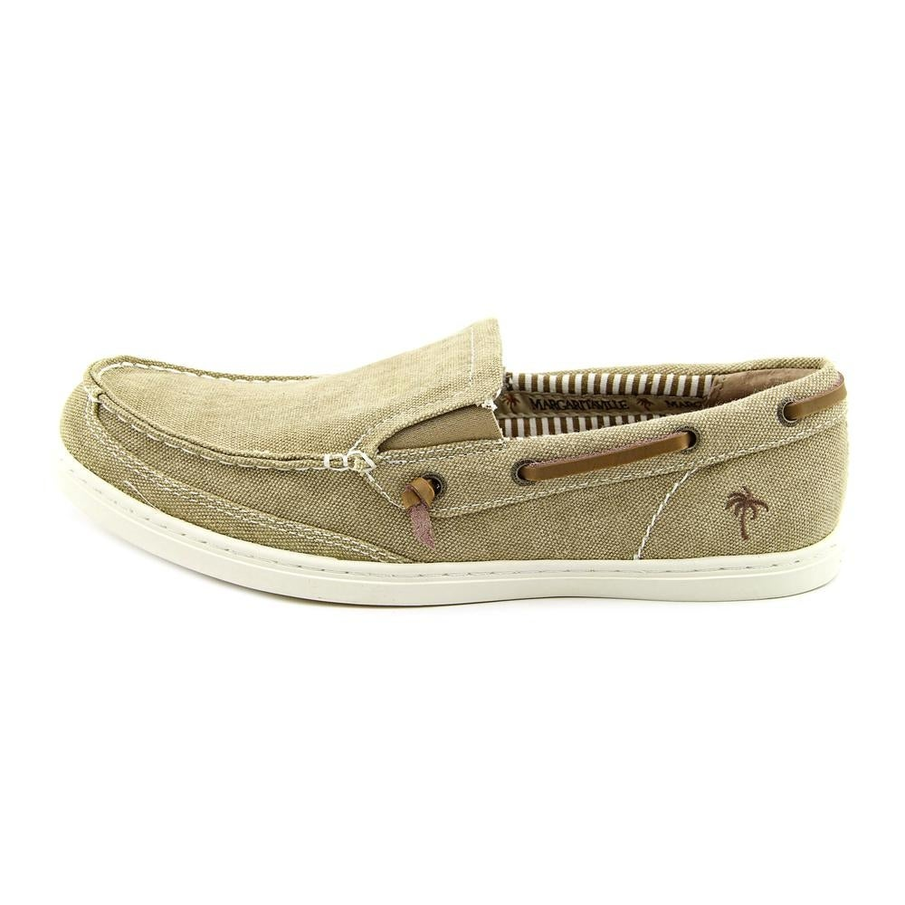 2ec0b45f7274b Shop Margaritaville Dock Canvas Men Round Toe Canvas Tan Loafer - Free  Shipping On Orders Over $45 - Overstock - 13631716