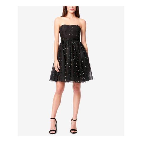 BETSEY JOHNSON Black Sleeveless Above The Knee Dress 10