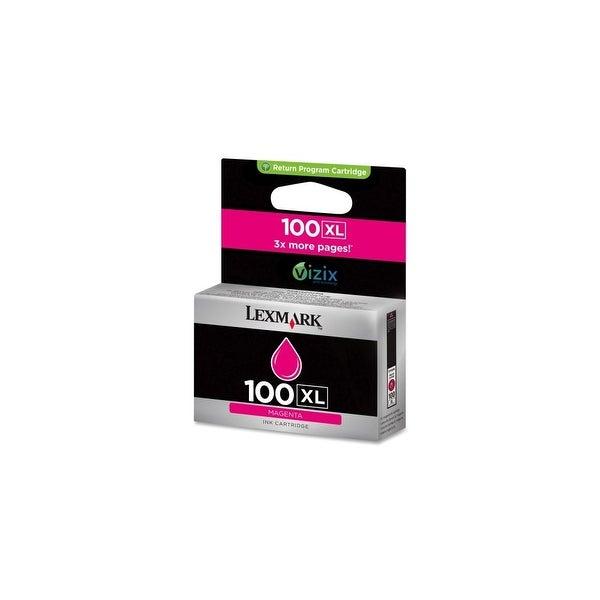Lexmark 14N1070 Lexmark No. 100XL Ink Cartridge - Magenta - Inkjet - 600 Page - 1 Each