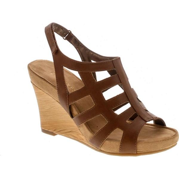 Aerosoles Women's Mint Plush Wedge Sandal